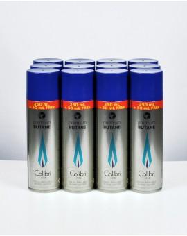 12 recharges butane Colibri 300ml