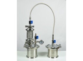 Glass closed loop BHO extractor 45g