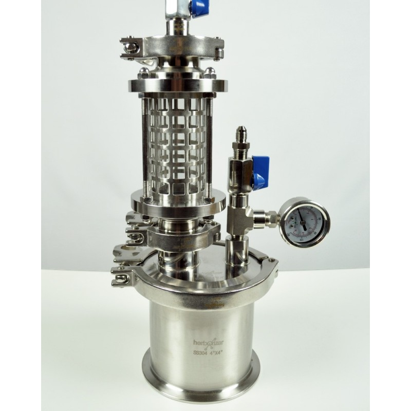Glass closed loop BHO extractor 45g - herborizer