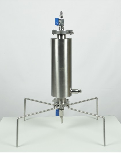 Closed extractor 90g dewaxing column