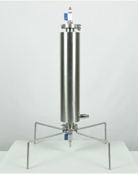 Closed extractor 135g dewaxing column