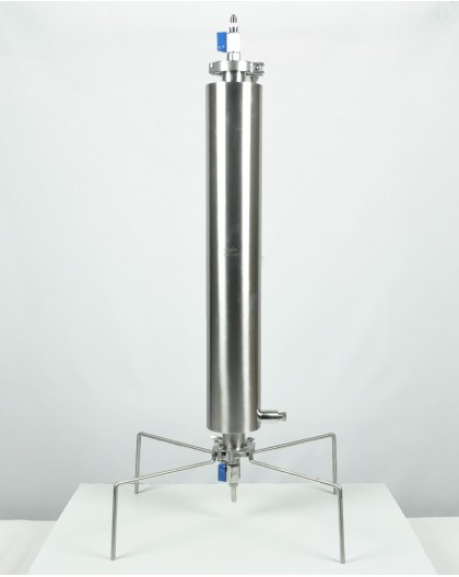 Closed extractor 180g dewaxing column