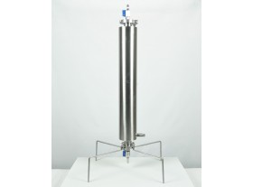 Closed BHO extractor 180g dewaxing column
