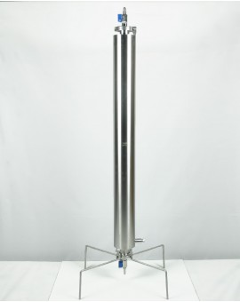 Closed extractor 270g dewaxing column