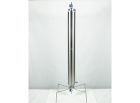 Closed BHO extractor 270g dewaxing column