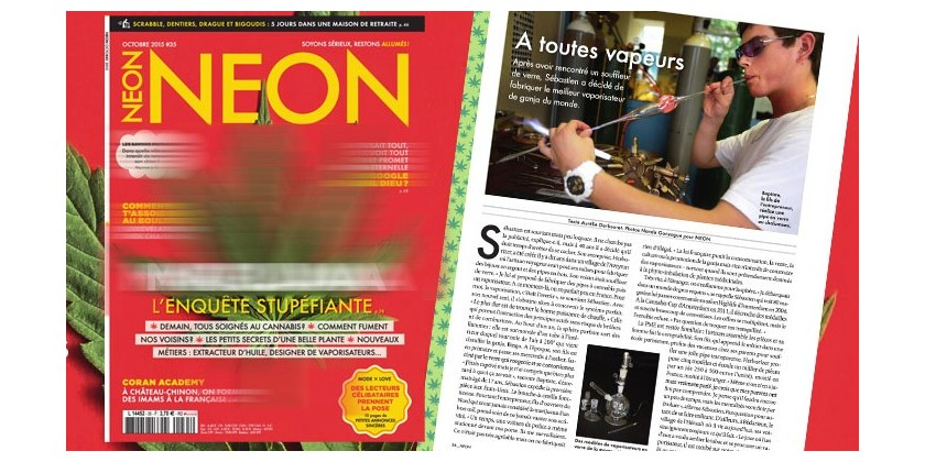 Article magazine NEON
