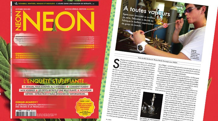 Article of the French magazine NEON